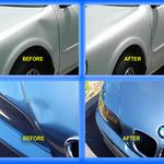 Before and After Pictures of Paintless Dent Repair by Orange County Paintless Dent Company in Orlando